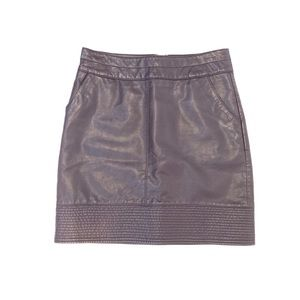 d768a98c20 Anthropologie Skirts - ANTHRO | Vanessa Virginia Faux Leather Mini Skirt